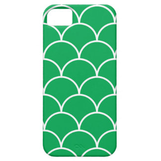 Green scales pattern case for the iPhone 5