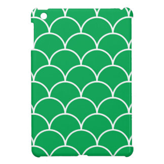 Green scales pattern iPad mini covers