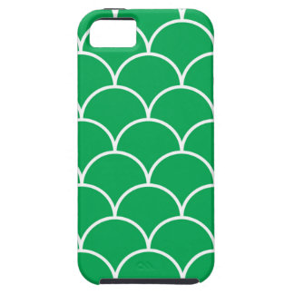 Green scales pattern iPhone 5 case