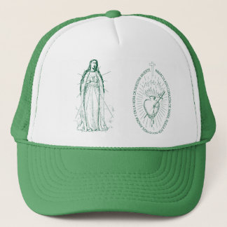 Green Scapular in Spanish 1 Trucker Hat