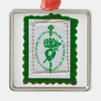 Green Scapular Ornament