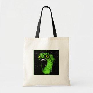 Green Scream Budget Tote Bag