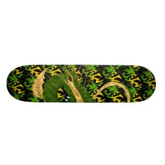 Green Sea Dragon Skateboard