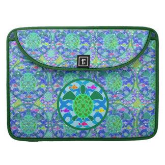 "Green Sea Turtle 15"" MacBook Pro Sleeve"