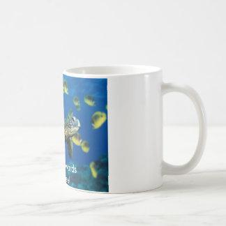 Green Sea Turtle, Heading towards the Coffee! Coffee Mug