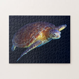 Green Sea Turtle - Jigsaw Puzzle