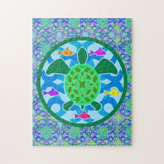 Green Sea Turtle Puzzle