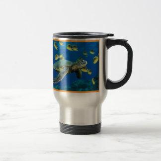 Green Sea Turtle Travel Mug