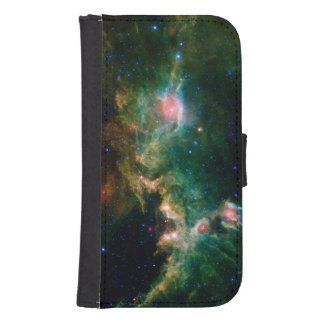Green Seagull Nebula NASA Astronomy Samsung S4 Wallet Case