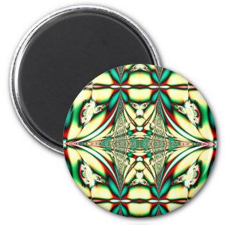 green season 6 cm round magnet