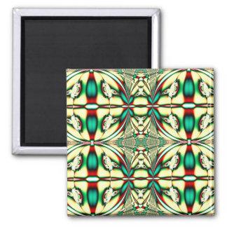 green season square magnet