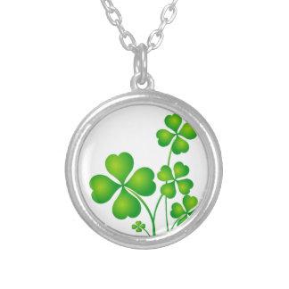 Green Shamrock From Ireland Custom Jewelry