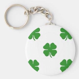 Green Shamrock Keychain