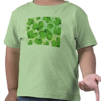 Green Shamrock St Patrick s Day Kid s T-Shirt