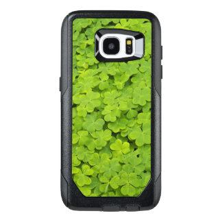 Green Shamrocks OtterBox Samsung Galaxy S7 Edge Case