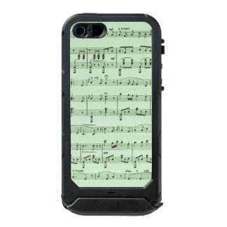 Green Sheet Music Incipio ATLAS ID™ iPhone 5 Case