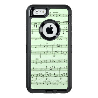 Green Sheet Music OtterBox iPhone 6/6s Case