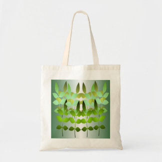 Green Shoot Budget Tote Canvas Bags