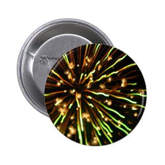 Green Shoots 6 Cm Round Badge