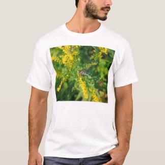 Green Sided Darner on Goldenrod T-Shirt