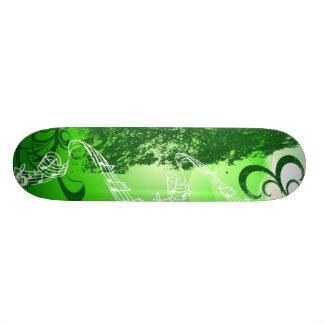 Green SingSong - Skate Deck