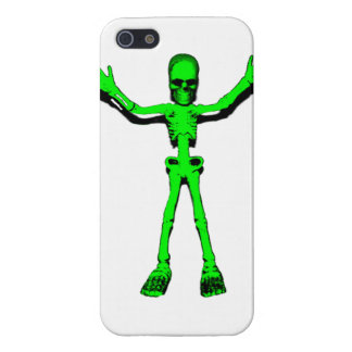 Green Skeleton iPhone 5 Cases