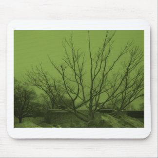 green skies mousepad