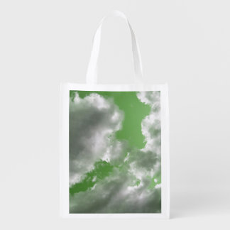 Green Skies Reusable Bag Grocery Bag