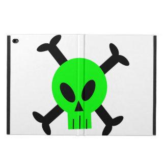 Green Skull And Crossbones iPad Air 2 Case