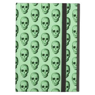Green Skulls Pattern. Case For iPad Air