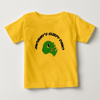 Green Sleepy Stego Primal Baby T-Shirt