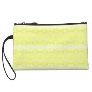 green small pocket wristlet purse