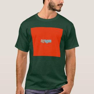 Green small t-shirt dark frontal