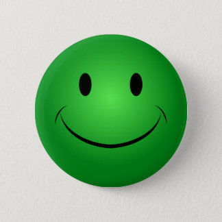 Green Smiley Button