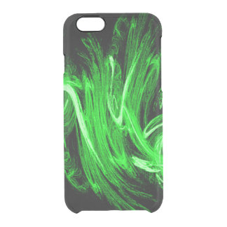 Green Smoke Clear iPhone 6/6S Case