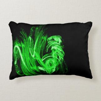 Green Smoke Decorative Cushion