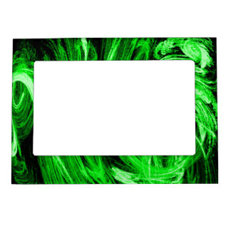Green Smoke Magnetic Picture Frame
