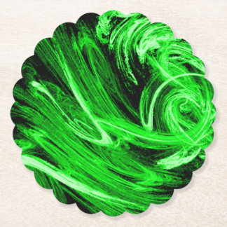 Green Smoke Paper Coaster