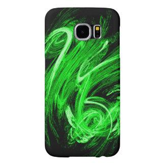 Green Smoke Samsung Galaxy S6 Cases