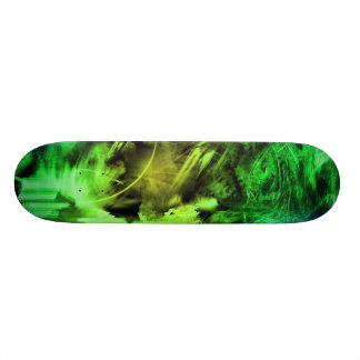 Green Smoke Skateboard