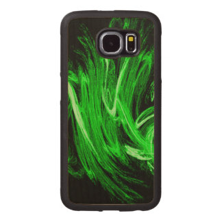 Green Smoke Wood Phone Case
