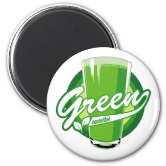 Green smoothie magnet