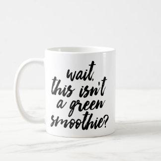 Green Smoothie mug