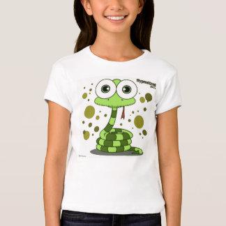 Green Snake Girls' Bella Fitted Babydoll T-Shirt