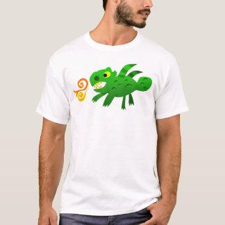 Green Solid Dragon (Adult) T-Shirt
