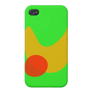 Green Space Cases For iPhone 4