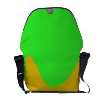 Green Space Messenger Bags