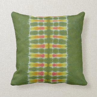 Green Spine Tie Dye American MoJo Pillow