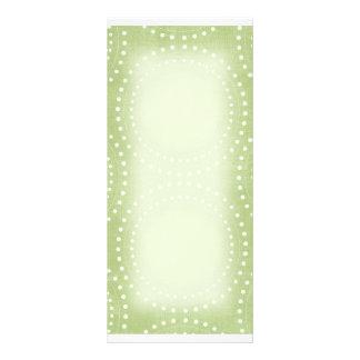 Green Spiral Rack Card