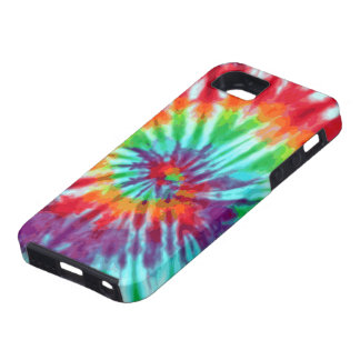 Green Spiral Tie-Dye Casemate iPhone 5 Case For The iPhone 5